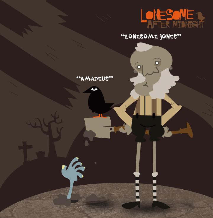 Lonesome Jone and Amadeus by sattideleon