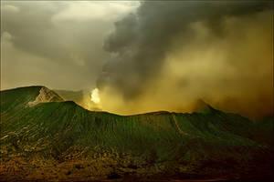 Earth's power-Bromo Volcano by Ananyana
