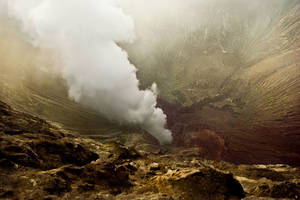 Earth's power-Bromo Volcano (2) by Ananyana