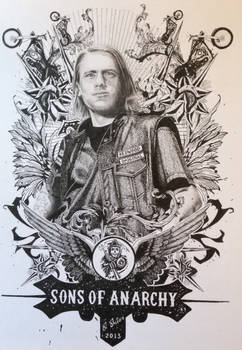 Sons of Anarchy Poster drawing