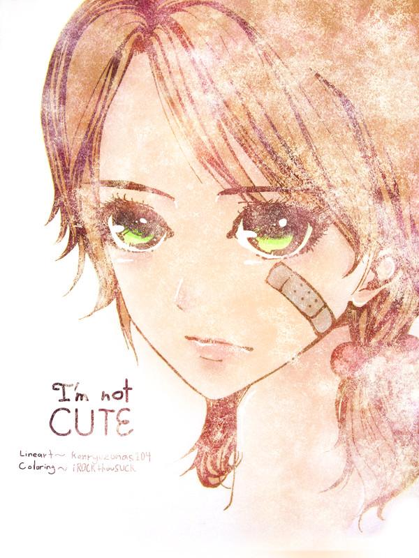 Im not cute- SPEEDPAINT by iROCKthouSUCK