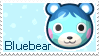 New Leaf Bluebear Stamp by Stamp-Crossing