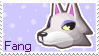New Leaf Fang Stamp by Stamp-Crossing