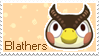 New Leaf Blathers Stamp by Stamp-Crossing