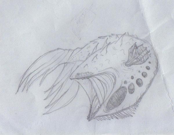 Monster Fish 01 by ghostlykazesensei