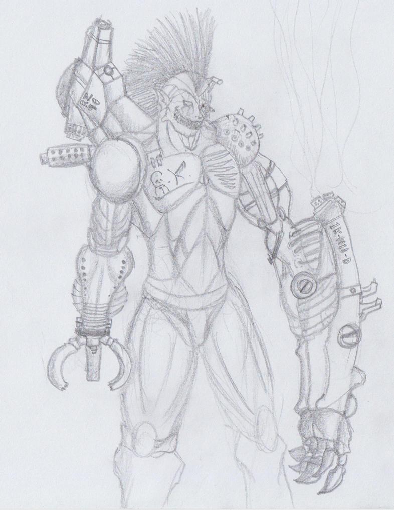 Cyborg by ghostlykazesensei