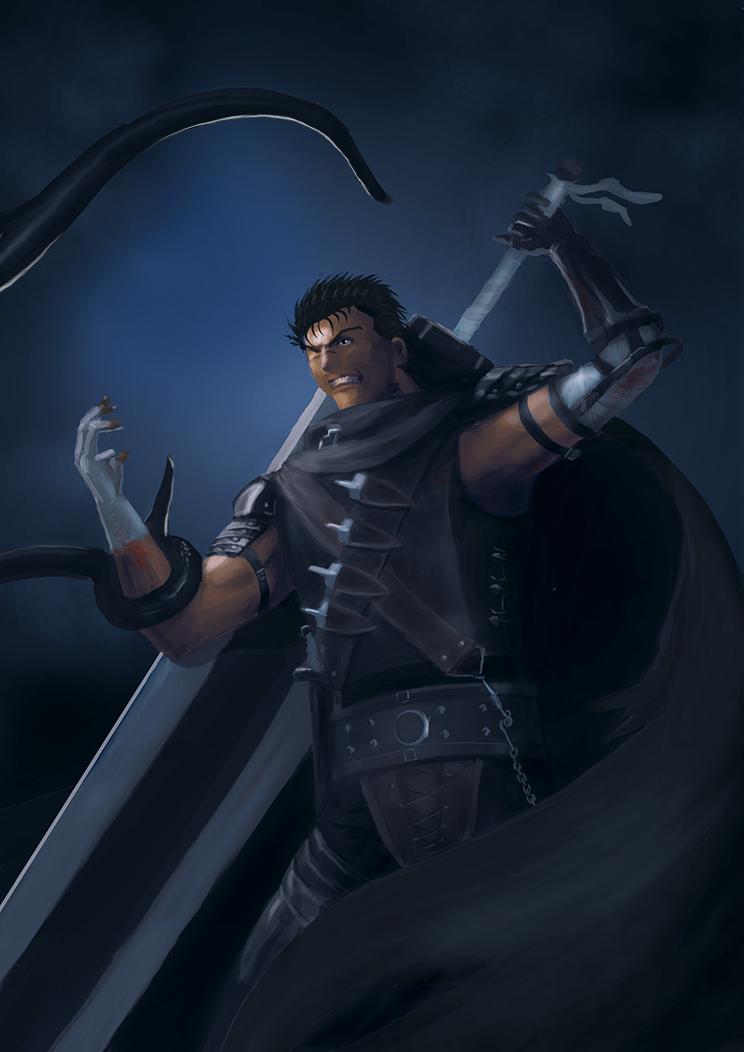 The Black Swordman by el-fio