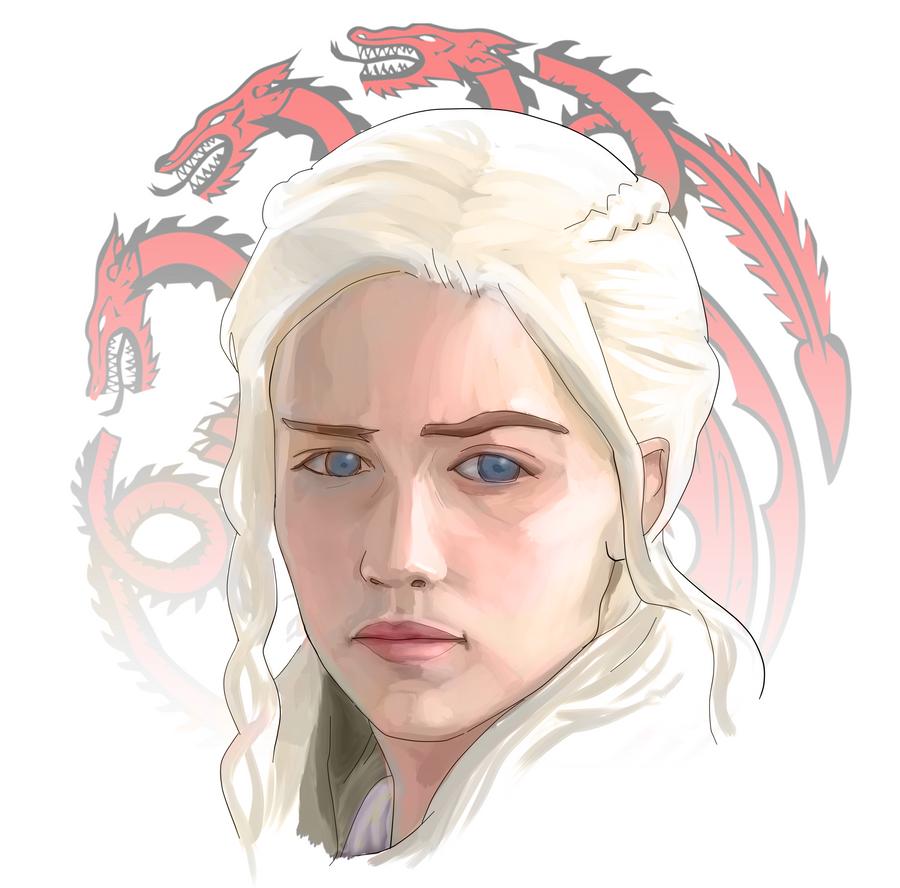 House Targaryen by el-fio