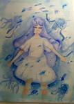 Jellyfish - Watercolor