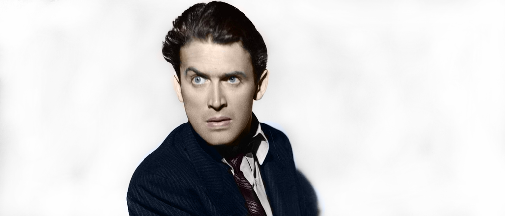 James Stewart in colors by JaquelineDickinson