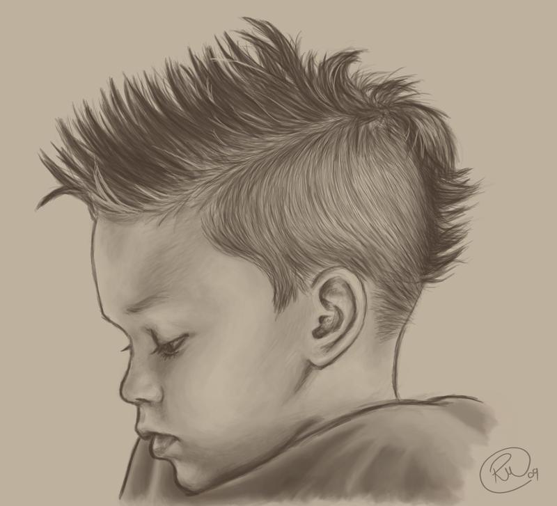 Punk Rock Kid by RebeccaMorton