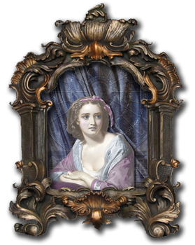 EKD - Lady in a Frame png