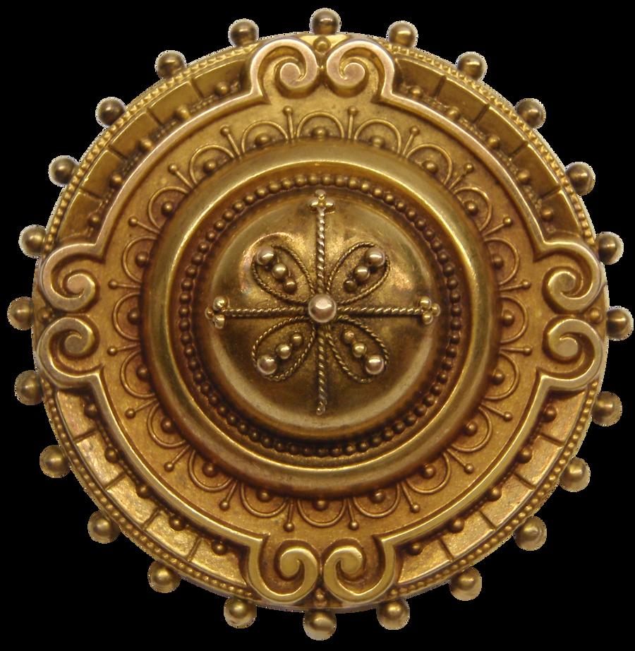 Vintage Shield Style Brooch