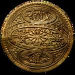 Vintage Shield Style Brooch 2