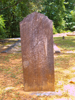 Old Tombstone Grave Marker 8