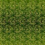 EKD Green Swirl Damask - 1816