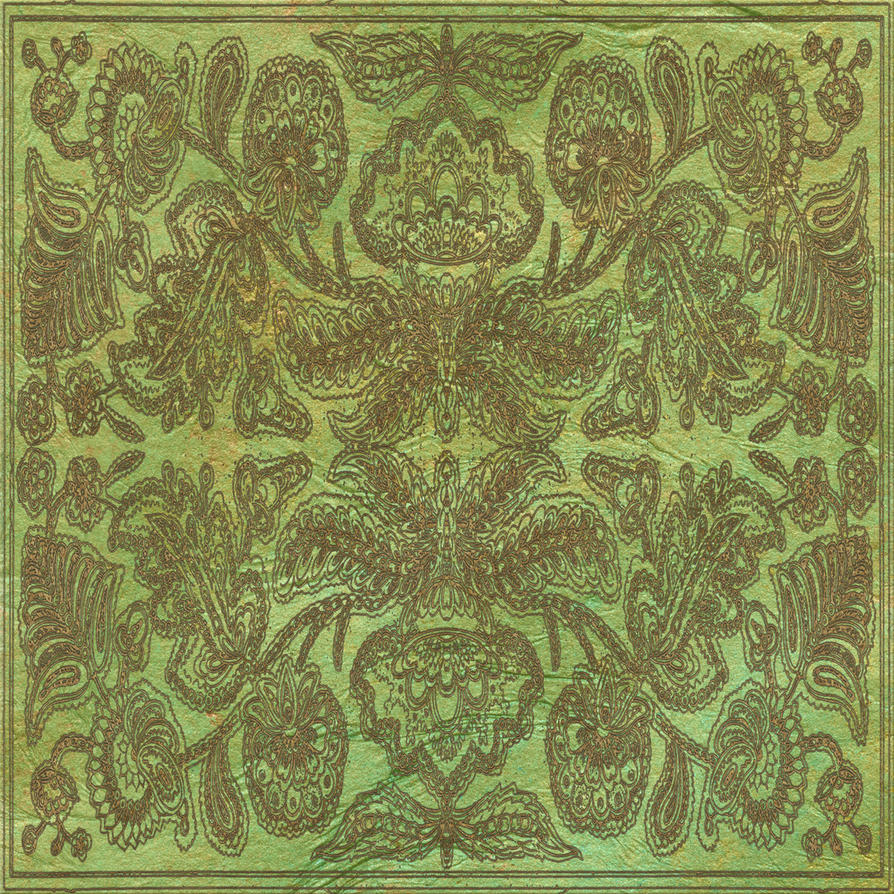 EKD Fancy Pattern Green - 1819 by EveyD