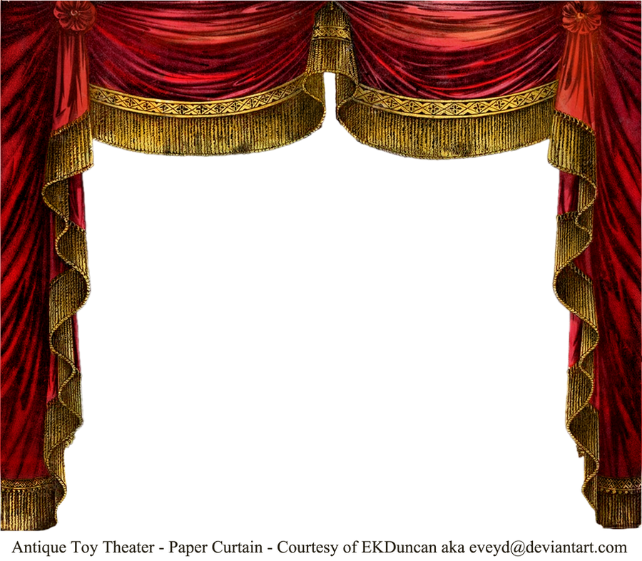 Paper Theater Curtain - Ruby by EveyD on DeviantArt
