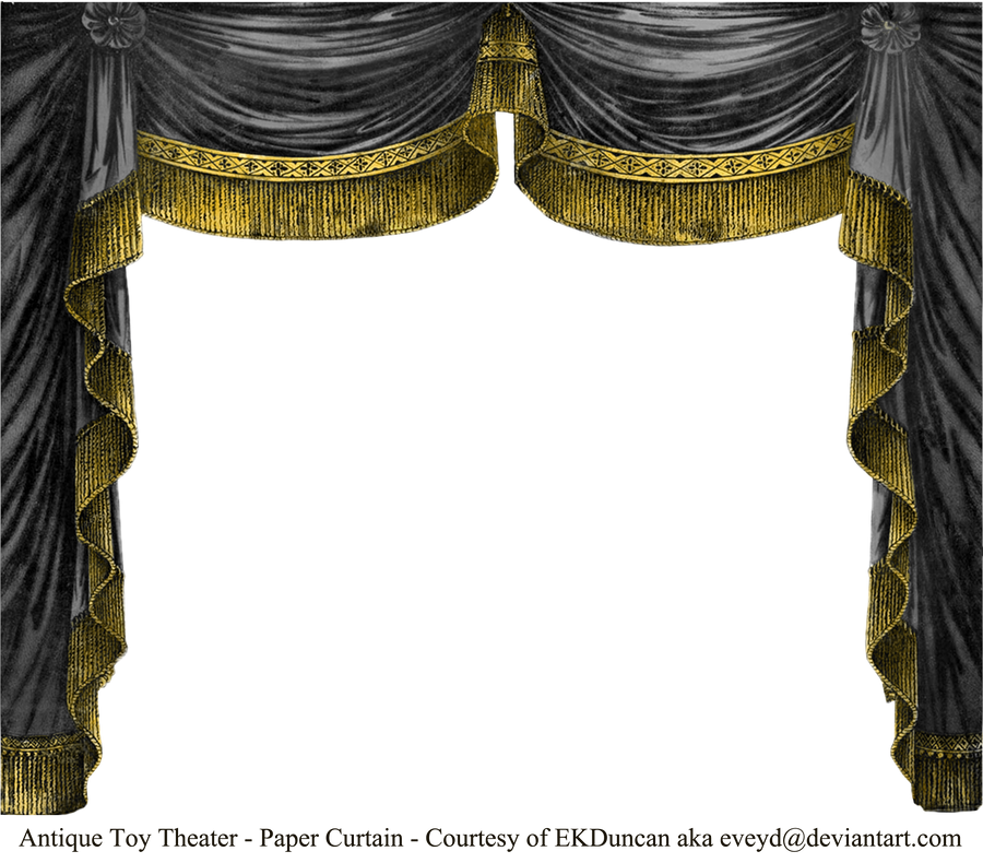 Paper Theater Curtain
