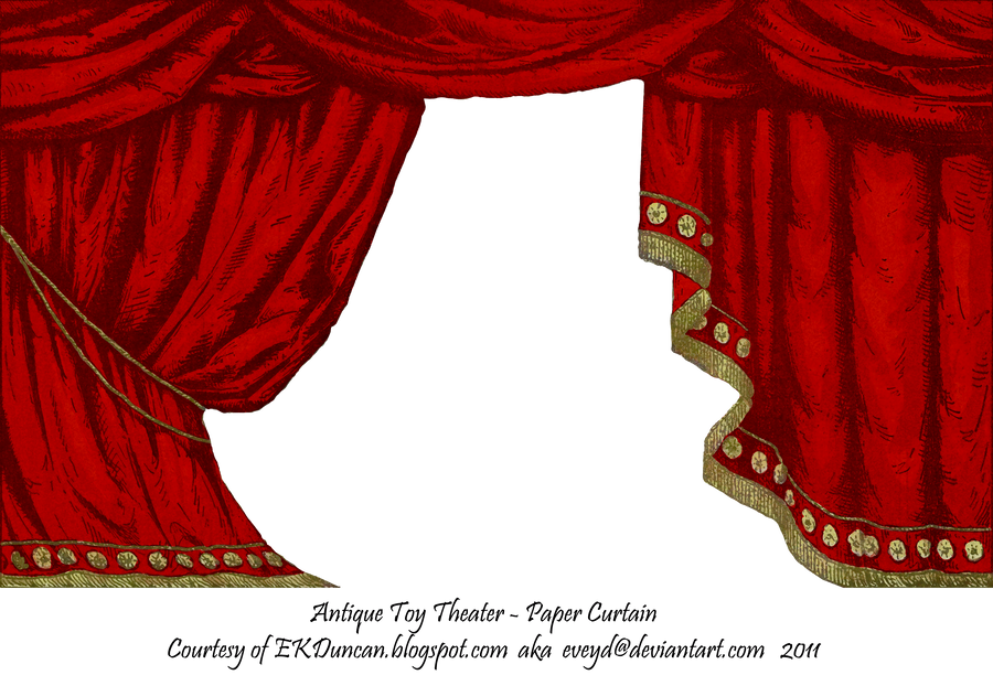 Red Toy Theater Curtain by EveyD on DeviantArt