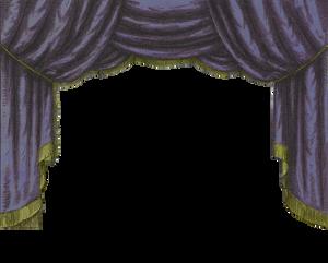 Midnight Toy Theater Curtain 2