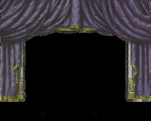 Midnight Toy Theater Curtain 3