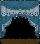 EKD 1809 Curtain - Blue