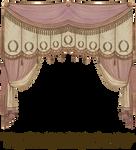 EKD 1809 Curtain - Rose