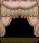 1809 Curtain - Pink Chocolate