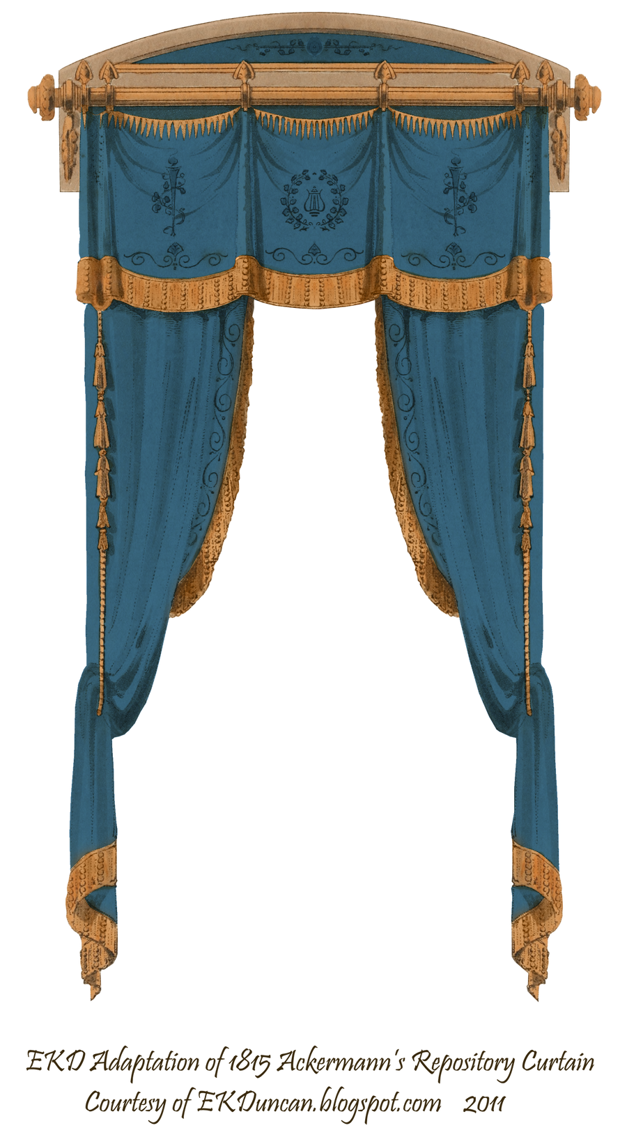 1815 french curtain blue by eveyd on deviantart for Blue theatre curtains png