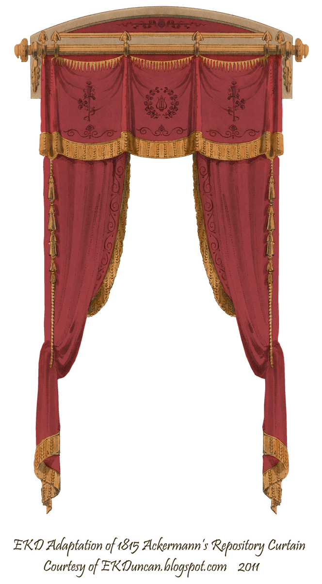 1815 French Curtain - Wine by EveyD on DeviantArt