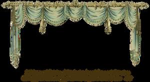 1819 Swag Curtain - Ocean by EveyD