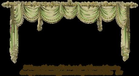 1819 Swag Curtain - Green