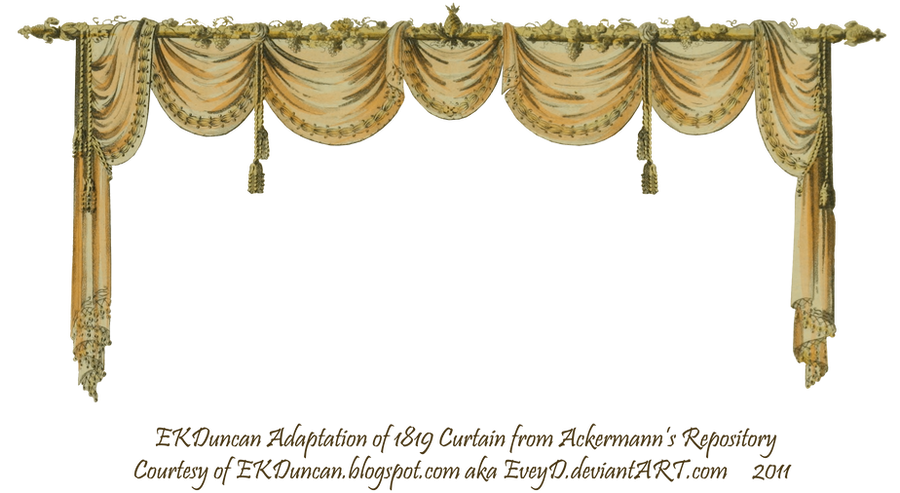 1819 swag curtain peach by eveyd on deviantart for Blue theatre curtains png