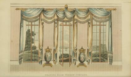 1820 Regency Curtain - Original