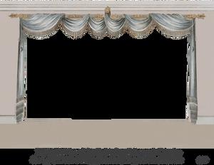 1820 Regency Curtain Room - EKD 4
