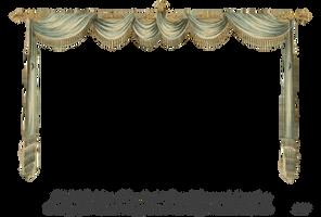 1820 Regency Curtain Room - EKD 1 curtain only