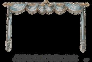 1820 Regency Curtain Room - EKD 3 curtain only