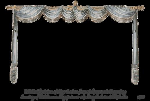 1820 Regency Curtain Room - EKD 4 curtain only