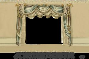 1820 Regency Curtain Room - EKD 1