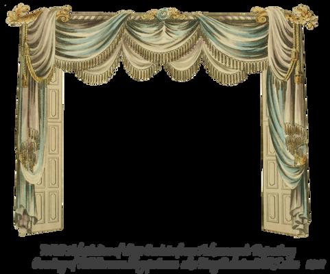 1820 EKD Regency Curtain Room 1 - curtain only