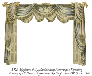 1820 EKD Regency Curtain Room 2 - curtain only