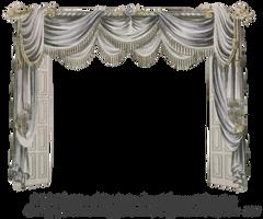1820 EKD Regency Curtain Room 4 - curtain only by EveyD