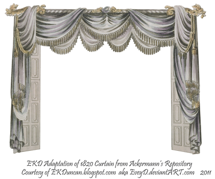 1820 EKD Regency Curtain Room 4 - curtain only