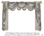 1820 EKD Regency Curtain Room 4 - curtain only