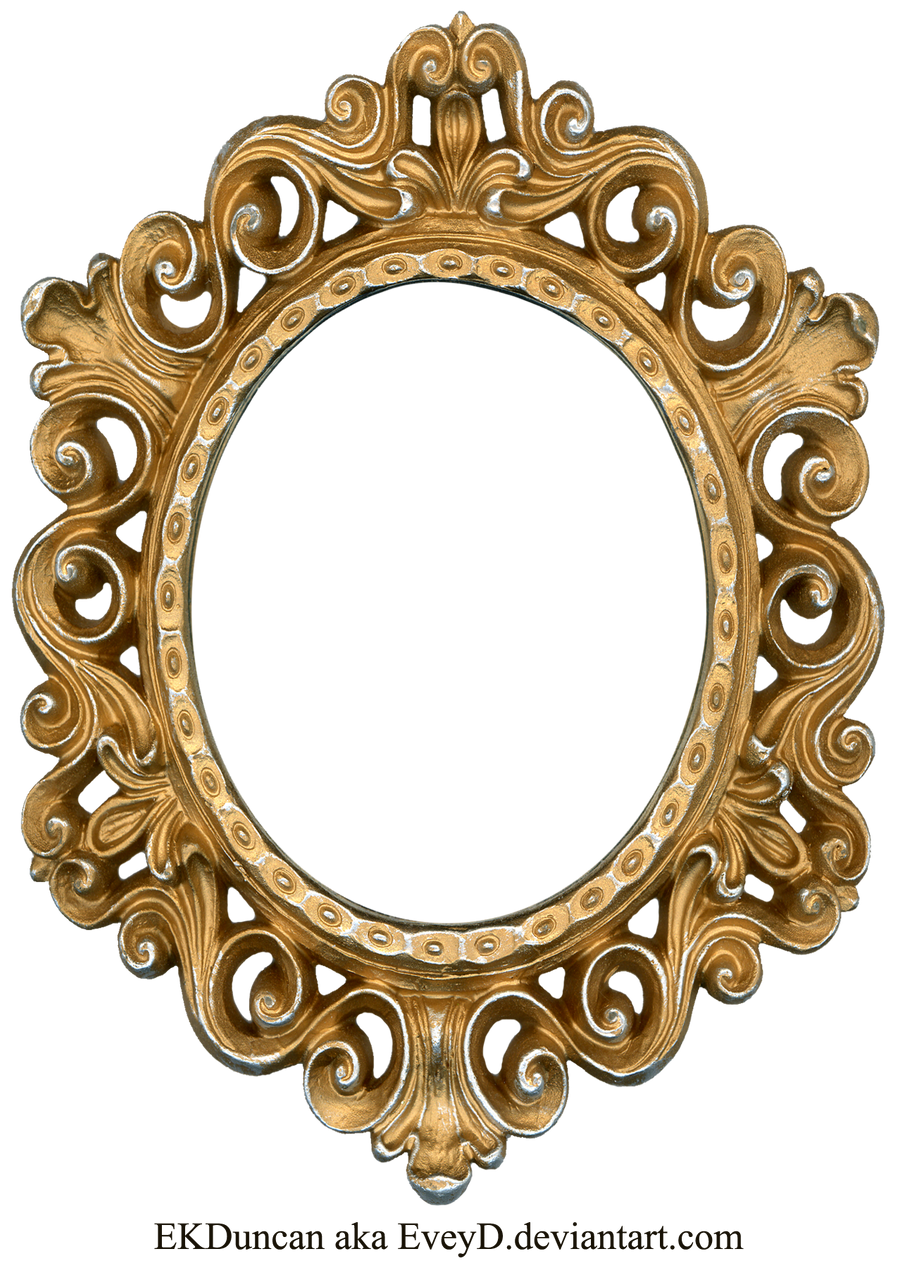 gimei 2848 290 vintage gold and silver frame oval by eveyd