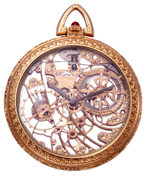 Antique Vintage Pocket Watch png