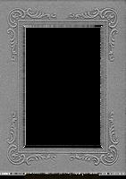 Vintage Cabinet Card Photo Frame Pressboard 1 by EveyD