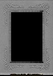 Vintage Cabinet Card Photo Frame Pressboard 1
