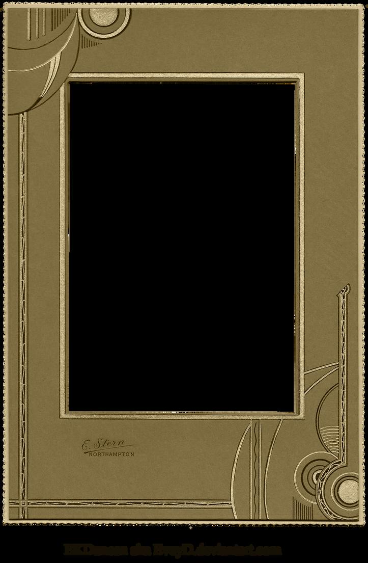 Vintage Cabinet Card Photo Frame Pressboard Deco by EveyD on DeviantArt